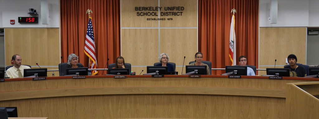 BUSD Board of Education September 2014