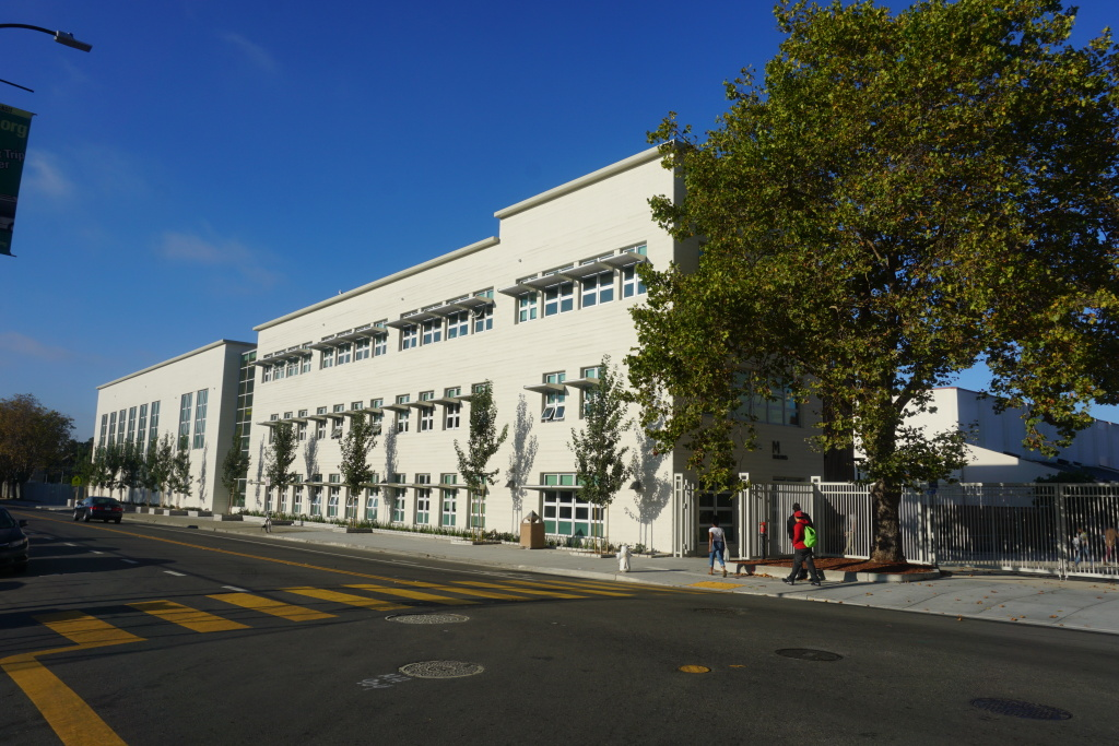 Berkeley High's M Building opened for the spring semester 2014