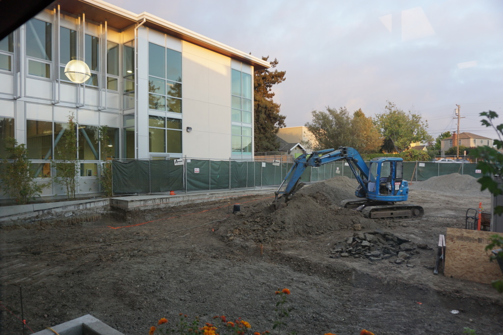 New classroom building welcomed students on the first day, and parents at Back to School Night.