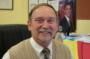 Superintendent Bill Huyett