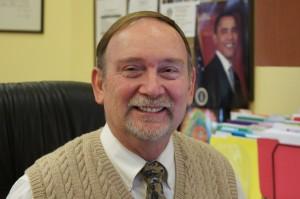 Superintendent Bill Huyett
