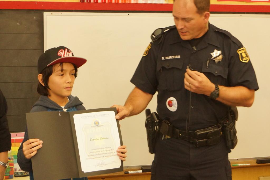 BPD Honor Brandon at John Muir School 055