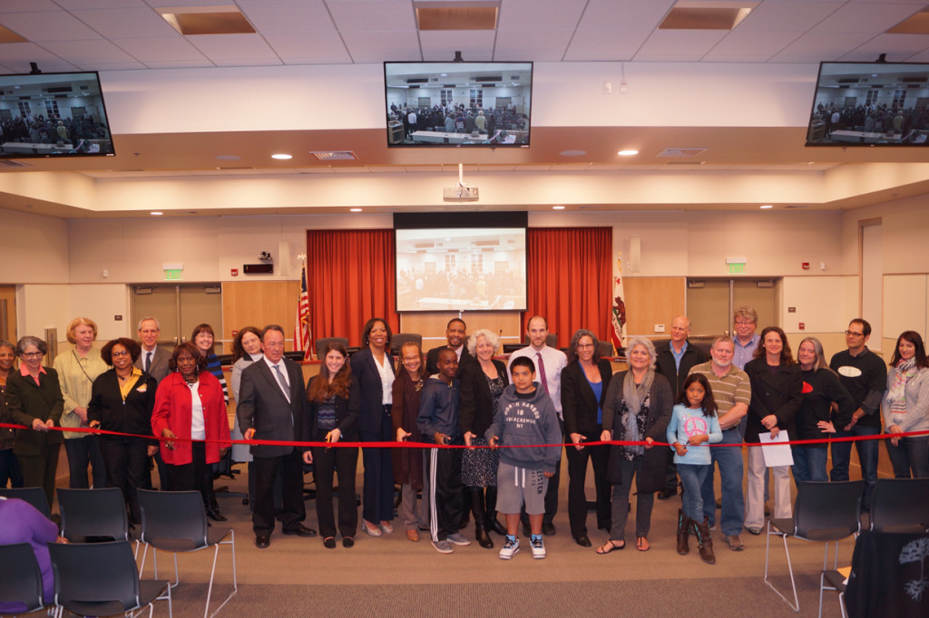 BUSD Board Room Ribbon Cutting 2014 1 72