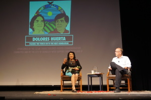 Dolores Huerta and Fred Ross Jr.  Passing the Torch to the Next Generation