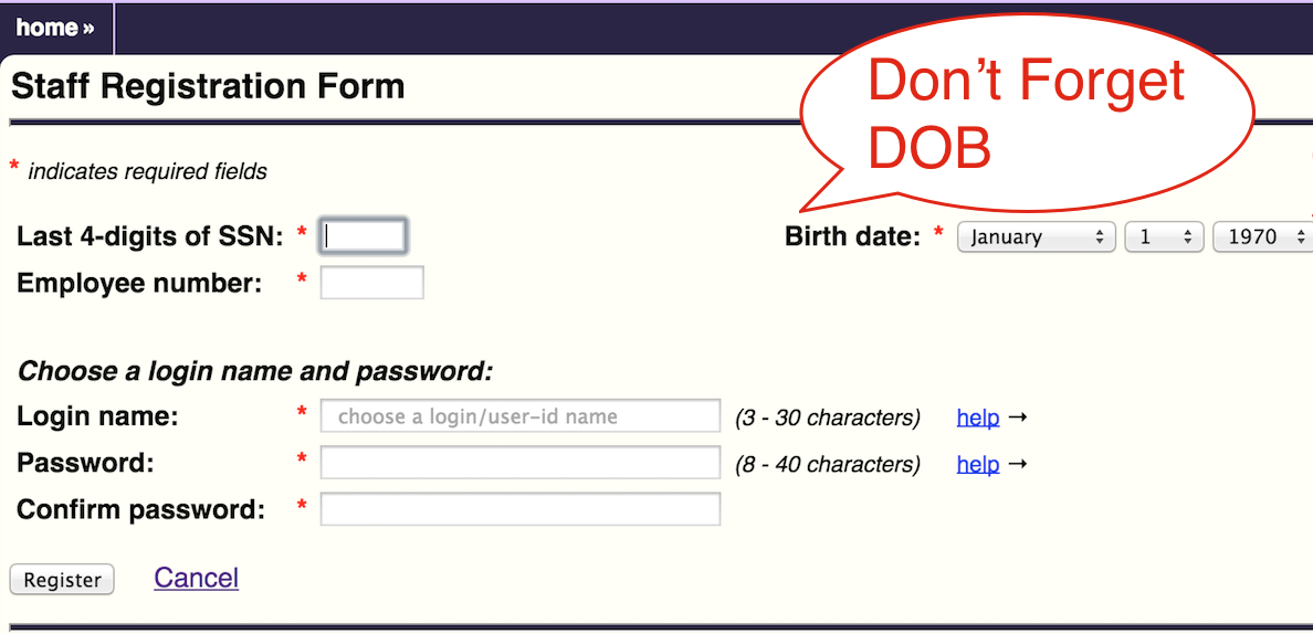 info ssn with dob