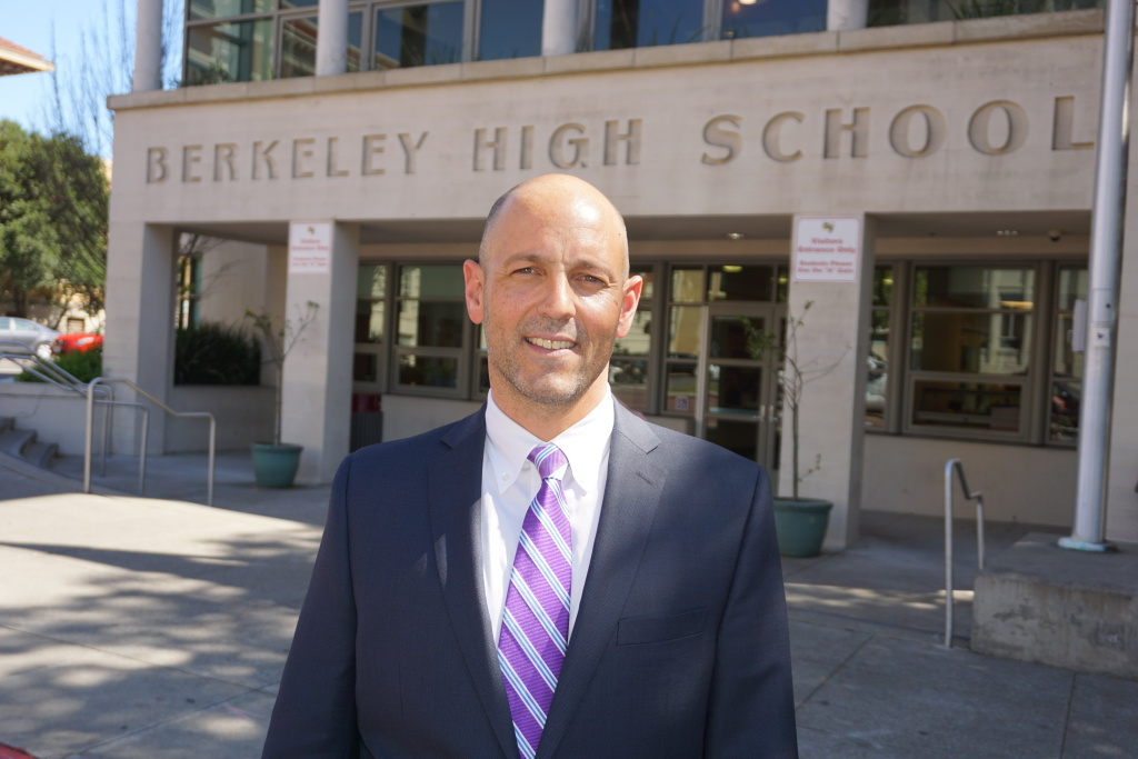 Berkeley High School Principal Select Sam Pasarow