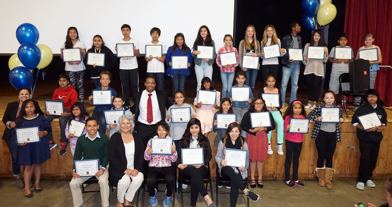 BUSD ELL Reclassification Ceremony 2015