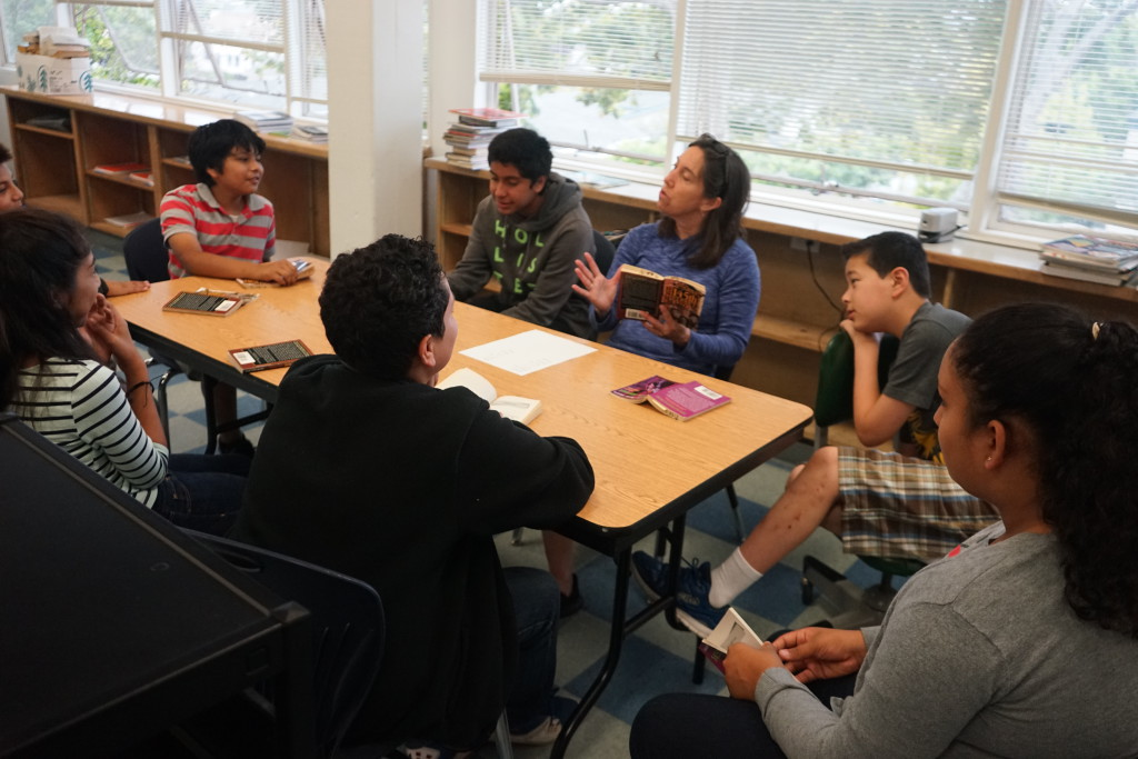 Middle School Students were engaged and productive in a robust summer school program.
