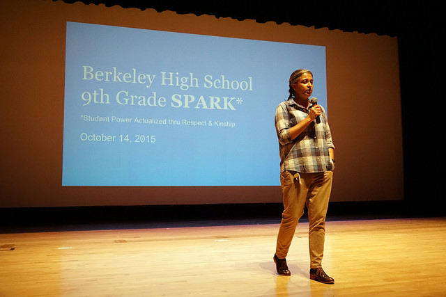 Berkeley High School 9th Grade SPARK Assembly