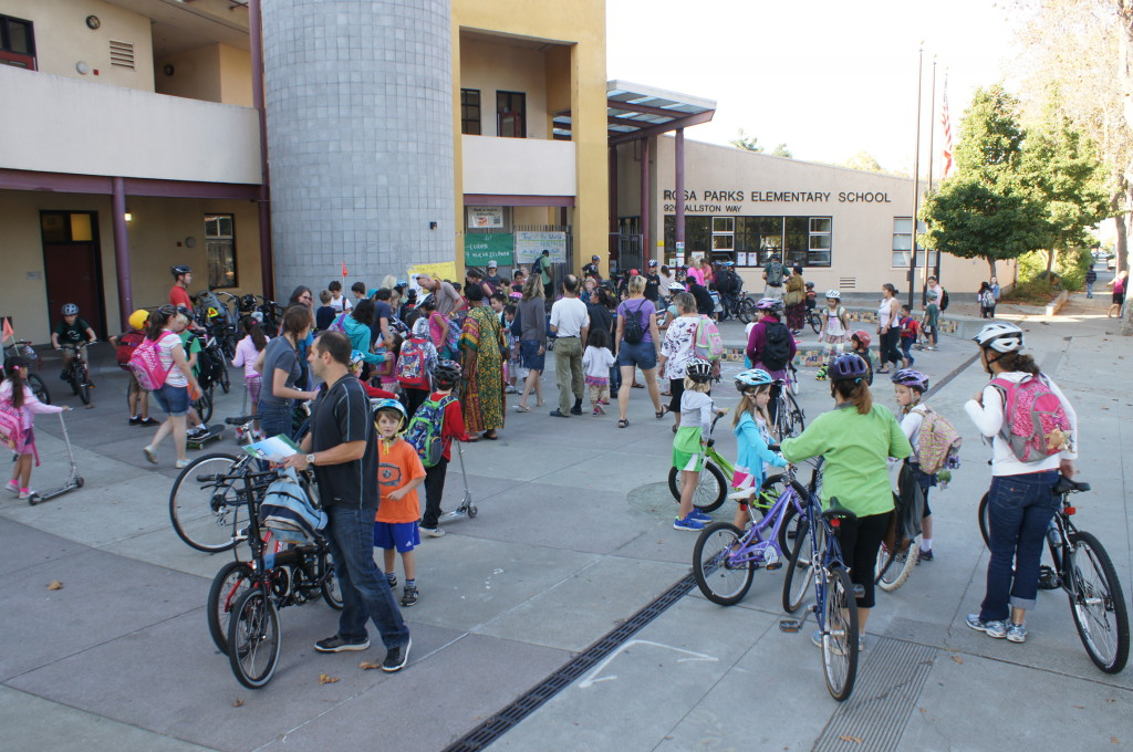International Walk & Roll to School Day October 7th
