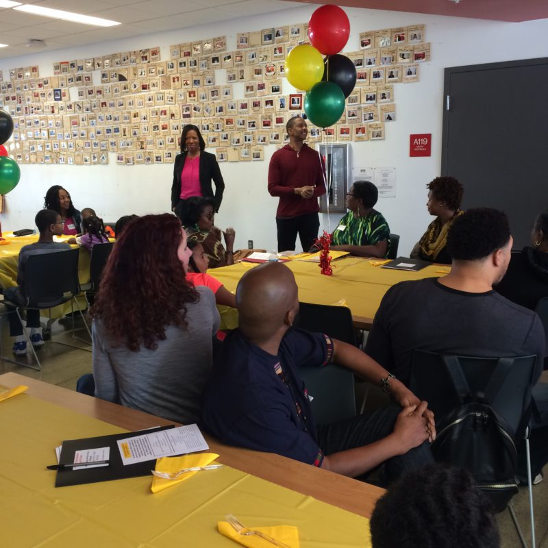 Black Parents Affinity Group Retreat; Next meeting: Dinner & Movie on March 8