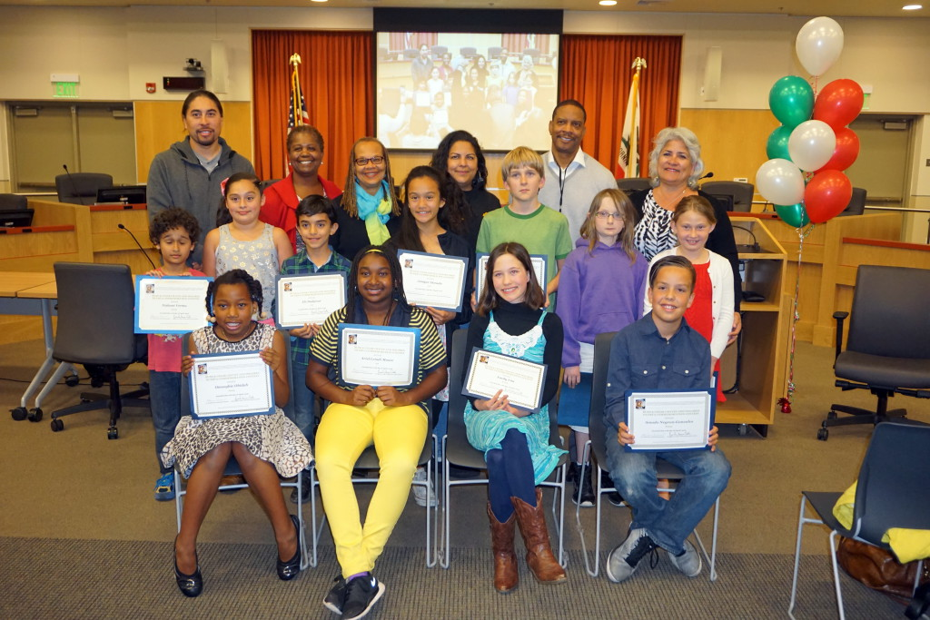 BUSD Chavez Huerta Art Poetry and Essay Contest 2016 Winners