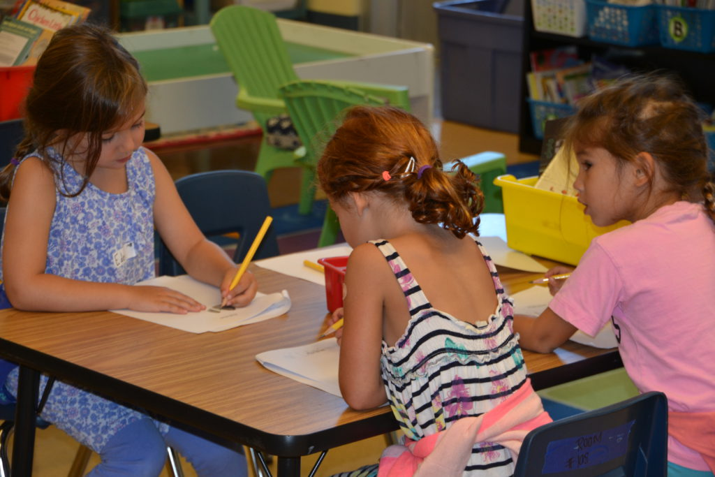 First Day of Elementary School – Kindergarteners Pencil Out Their Thoughts