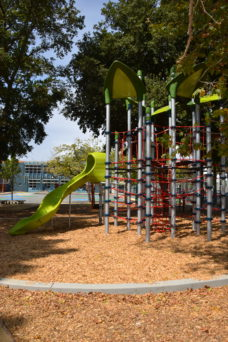 Washington Elementary's new play structure