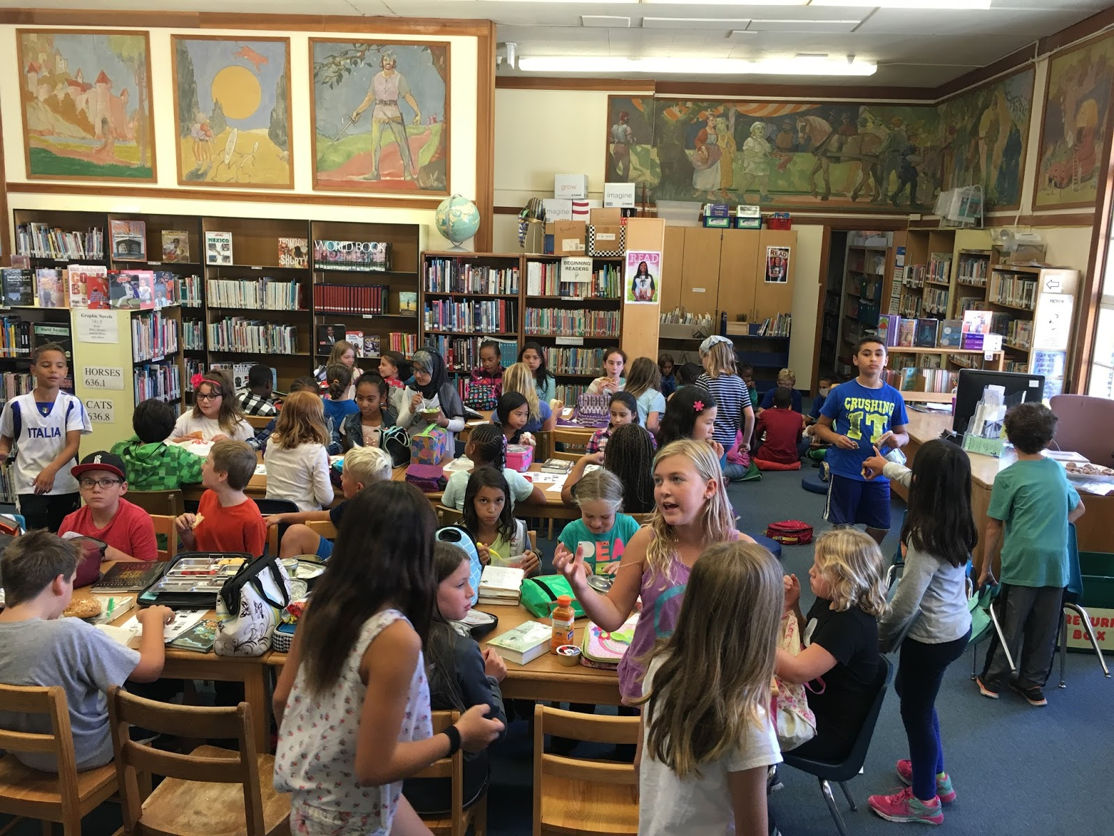 Mock Newbery Book Club launches this month in every elementary school!