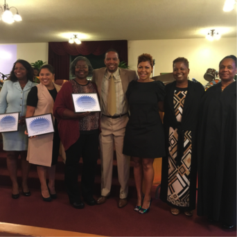 BUSD 2016 Outstanding Educators recognized at Liberty Hill's 8 a.m. service