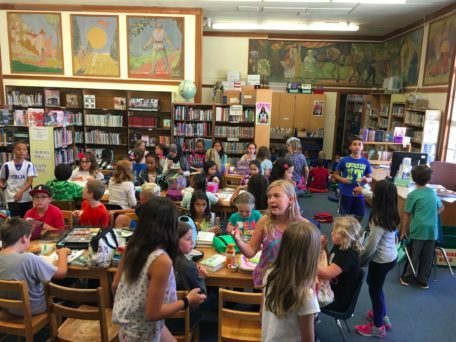 Berkeley's Mock Newbery book clubs