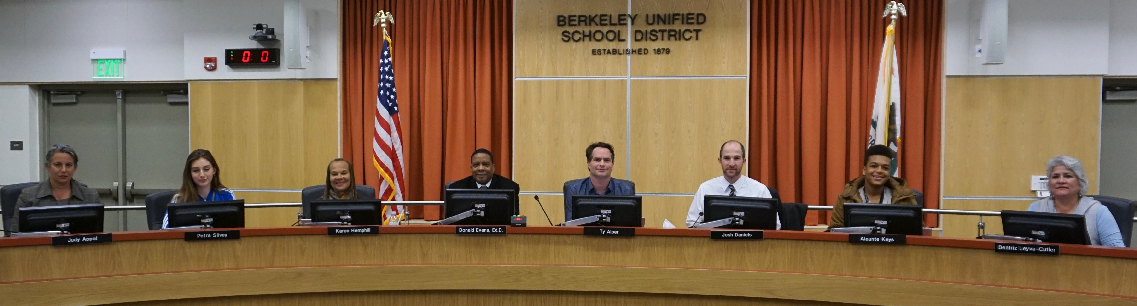 BUSD Board of Education 2016-17