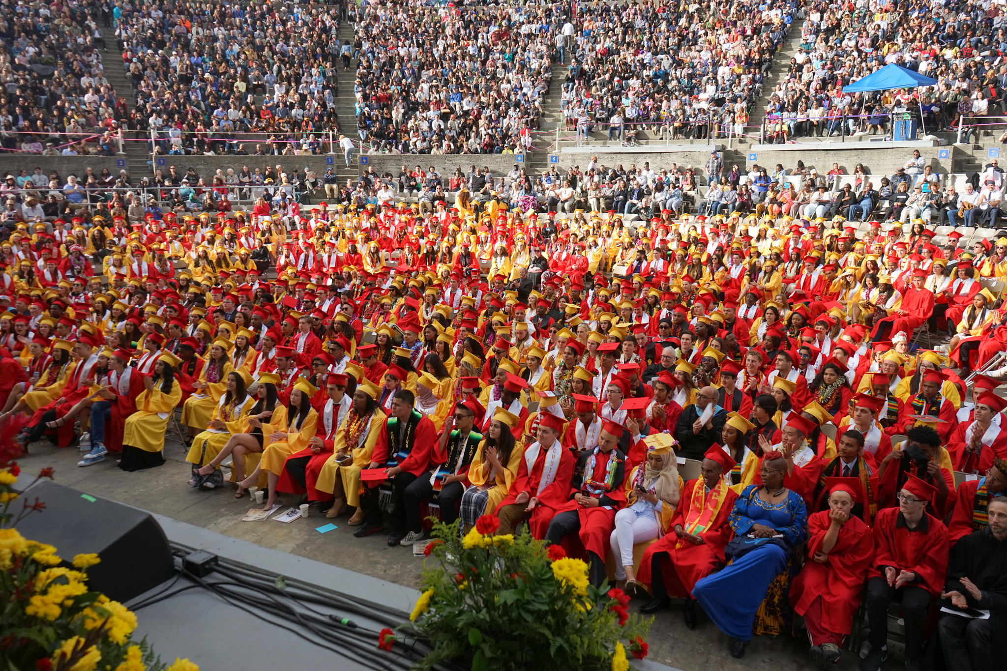 Berkeley High School graduation. Berkeley High Class of 2018