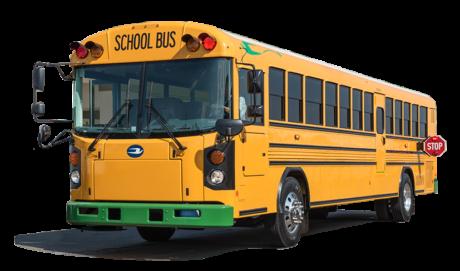 Image of Bluebird electric bus