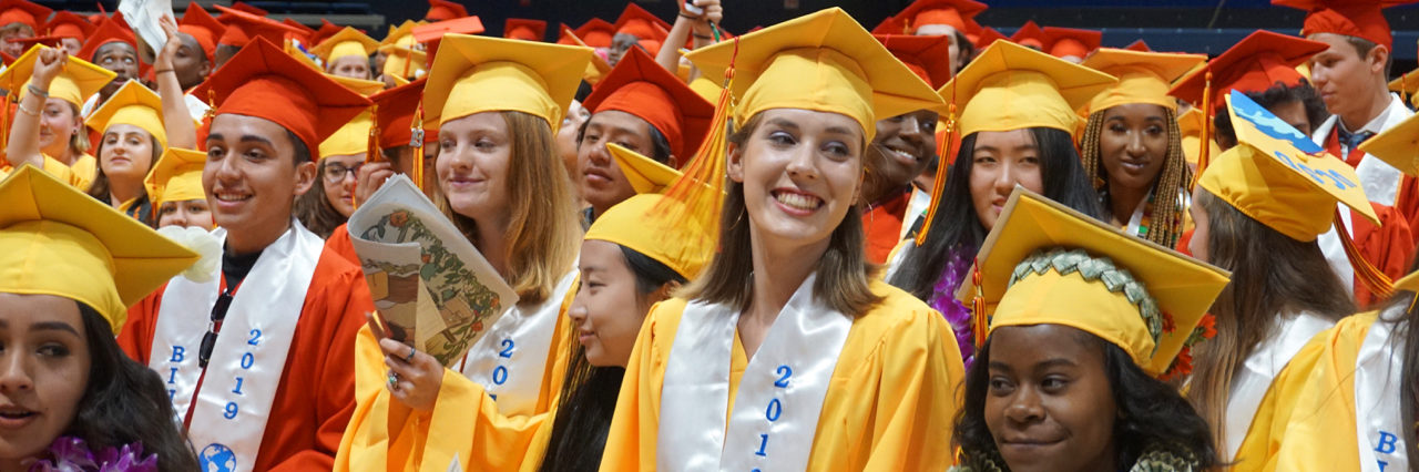 Photo from 2019 Berkeley Unified School District graduation