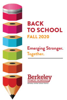 This is the cover of the English language version of the Back to School Fall 2020 distance learning plan. It links to the full plan.