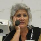 This is a photo of retiring School Board Director Beatriz Leyva-Cutler.