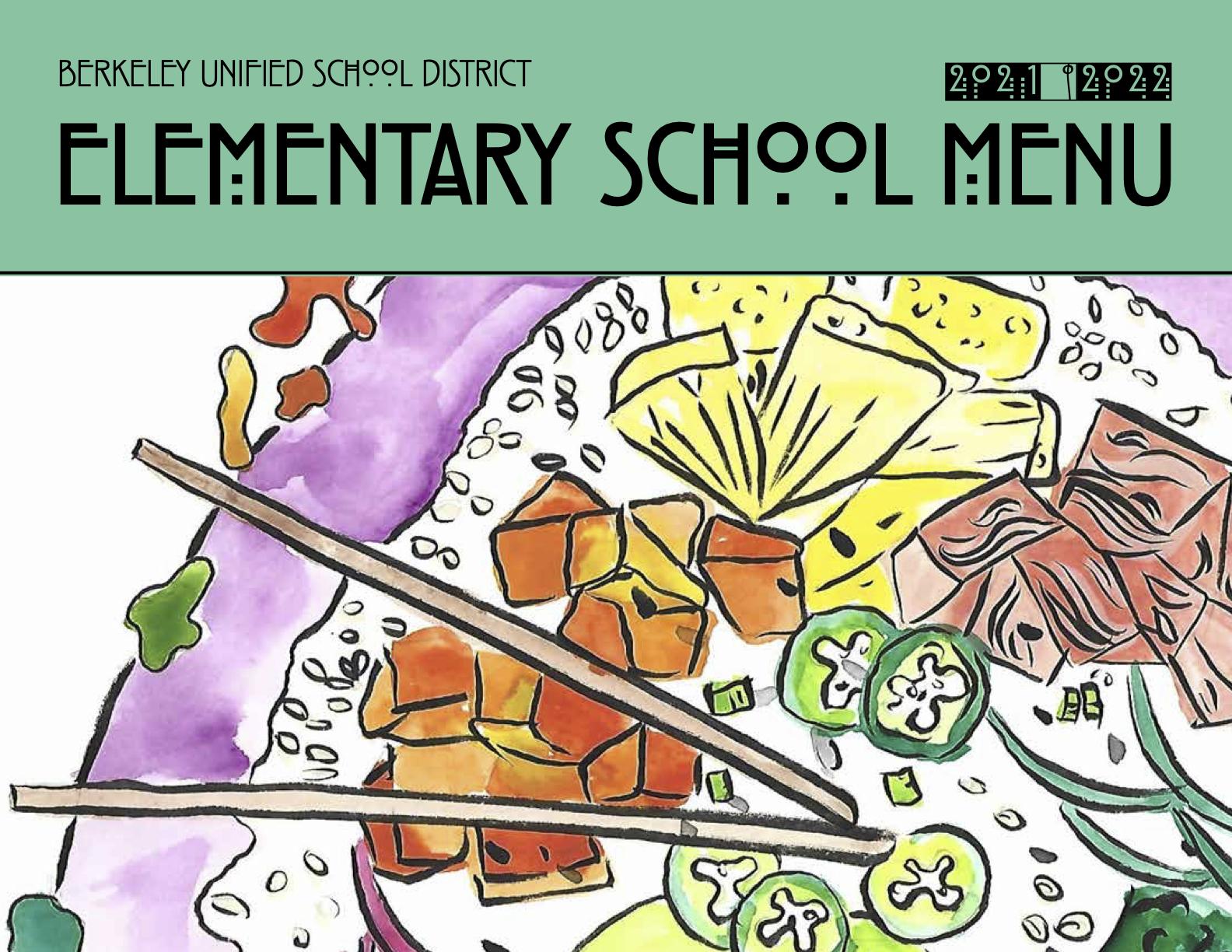 Elementary School Lunch Menu