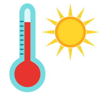 Image of Thermometer and Sun
